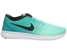 MENS NIKE FREE RN RUN RUNNING SHOES TRAINERS HYPER TURQUOISE / RIO TEAL / VOLT