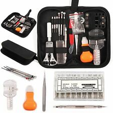 288Pcs Watch Repair Back Case Opener Wrench Screw Cover Remover Tool Kit