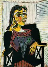 Portrait of Dora Maar, c.1937 Art Print by Picasso, Pablo Wall Decor Art Home