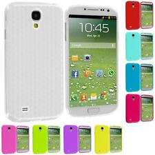 For Samsung Galaxy S4 SIV i9500 Color Diamond Pattern TPU Rubber Skin Case Cover