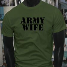 ARMY WIFE ARMED SPECIAL FORCES PROUD MILITARY Mens Military Green T-Shirt