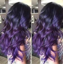 Purple Human Hair Wig Affordable Full Lace Wigs Virgin Front Lace Wig Human Hair