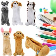 Cute Doll Puppy Pencil Pen Bags Case Box Cosmetic Pouch Brush Holder Makeup Bag