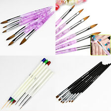 New Design Painting Pen Nail Art Brush Set For Salon Manicure DIY Drawing Tools
