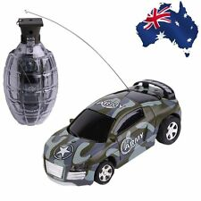 New Mini Remote Control Car High Speed Hand Grenade Shaped Shell Toy Gift BX