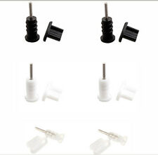 Headphone Jack+USB Port Anti Dust Plug Cover Cap Set For Samsung HTC/Sony/LG Lot