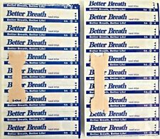 10pc Breath Right Advanced Nasal Strips Clear Reduce Snoring Better S/M/L