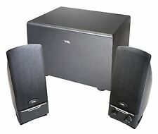 Cyber Acoustics 2.1 Powered Speaker System with Subwoofer (CA-3000)+New.........