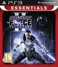 Star Wars The Force Unleashed II ( 2 ) Edition New PS3 Essentials Game