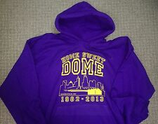 MINNESOTA VIKINGS HOME SWEET DOME HOODED SWEATSHIRT 1982-2013 METRODOME