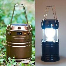 Power Camping Lanterns Outdoor Sports Lamp Rechargeable Flashlights Hiking Solar