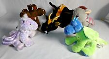 Lot of 5 Dragon Mythical Creatures Stuffed Animals Plush Child Kid Toy