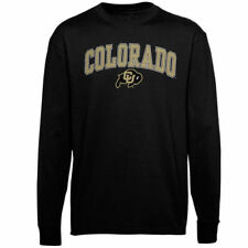 Colorado Buffaloes Youth Black Midsize Long Sleeve T-Shirt