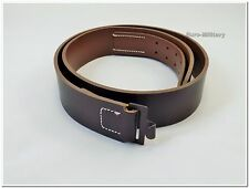WW2 German Army WH Leather 100% Cowhide Belt - High Quality WWII German - Repro