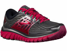 NEW WOMENS BROOKS GLYCERIN 14 RUNNING SHOES TRAINERS ANTHRACITE / AZALEA D-WIDE