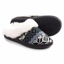 Womens Muk Luks Clog Slippers with Faux-Fur Lining S (5-6) L (9-10)~FourColors!