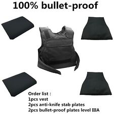 Armor Vest Self Defense Bullet Proof Body Bulletproof III A 3a iiia Level Army