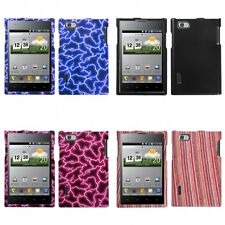 For LG Optimus Vu P895 Design Snap-On Hard Case Phone Cover