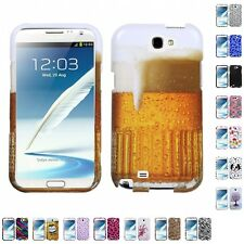 For Samsung Galaxy Note 2 N7100 Design Snap-On Hard Case Phone Cover