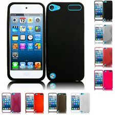 For Apple iPod Touch 5th Gen TPU Rubber Flexible Skin Case Phone Cover