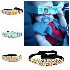 Infants Baby Safety Pram Stroller Head Support Sleep Fastening Belt Car Seat