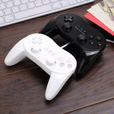 Classic Wired Game Controller Remote Pro Gamepad Shock For Nintendo Wii EA