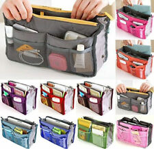 Lady Travel Insert Handbag Organiser Purse Large Liner Organizer Tidy Bag  EA