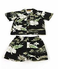 Boy's Orchid Hawaiian Cabana Set (Shirt and Pants)