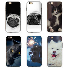 3D Animals Dog Cat Case Cover for iPhone 6 7 Plus Samsung Galaxy S6 S7 Exquisite