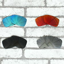 POLARIZED Replacement Lenses for-OAKLEY Crankcase Sunglasses-Multiple Options