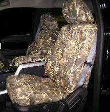 Custom Hatchie Bottom Seat Covers 2000-2003 Ford F150  CAMO and solid  NEW