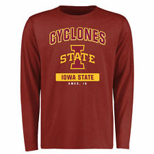 Iowa State Cyclones Cardinal Campus Icon Long Sleeve T-Shirt - College