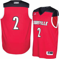 adidas Louisville Cardinals Red 2016 March Madness Basketball Jersey