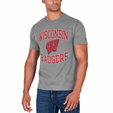 Champion Wisconsin Badgers Gray Tradition T-Shirt