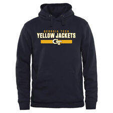 Georgia Tech Yellow Jackets Navy Team Strong Pullover Hoodie