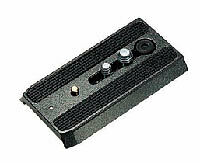 """Manfrotto 501PL Sliding Quick Release Plate with 1/4""""-20 & 3/8"""" Screws"""