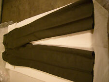 WELL KNOWN BRAND WORK PANTS/SUITS OLIVE GREEN IN COLOR (READ DESCRIPTION)