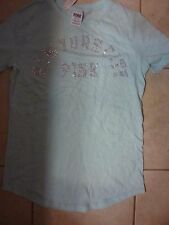 "VICTORIAS SECRET PINK BLING LIMITED ED TOURISM NEW YORK CITY ""PINK""TEESHIRT NWT"