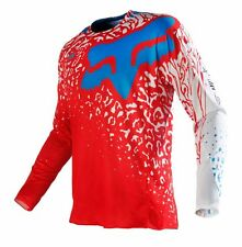 NEW Fox Racing MX Gear 360 Cauz Red White Adult Motocross Jersey SIZE MEDIUM