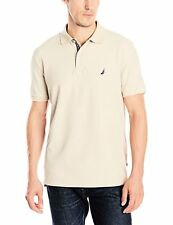 Nautica Mens Sportswear K53000 Solid Deck Shirt M- Choose SZ/Color.