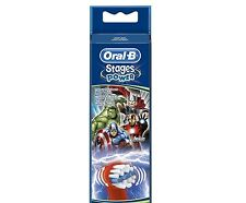 Braun Oral B Stages Avengers Kids Replacement Brush Heads - NEW