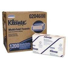 KLEENEX Multifold Towels, 16.3 x 8.5, 2-Ply, White, 94/Pack - KCC 28791