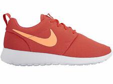 NEW WOMENS NIKE ROSHE ONE RUNNING SHOES TRAINERS EMBER GLOW / PEACH CREAM / SAIL
