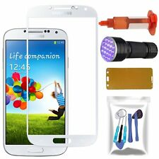 Samsung Galaxy S4 Outer Screen Glass Lens Replacement UV Light Glue Tools White