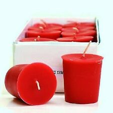 Watermelon Scented  15 Hour Soy Votive Candles Pick A Pack