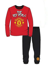 Boys Official Manchester United FC Football Pyjamas MU Childrens  Age 1-4 Years