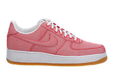 NEW MENS NIKE AIR FORCE 1 LV8 BASKETBALL SHOES TRAINERS GAME RED / GAME RED / GU