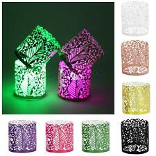50pcs Paper Led Candle Lampshade Light Holders Tea Light Votive Wraps Favors