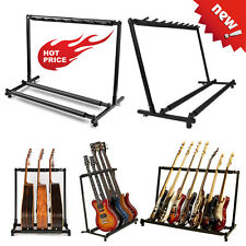 Guitar Stand 9 7 5 3 1Holder Guitar Folding Stand Rack Band Bass Acoustic Guitar