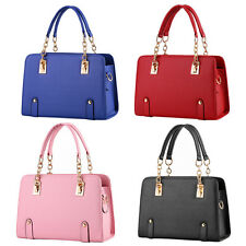 Women Handbag Shoulder Bags Tote Purse PU Leather Ladies Messenger Hobo Bag LE